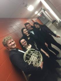 McGill Symphony Orchestra post-concert pic (photo by Will Broverman)